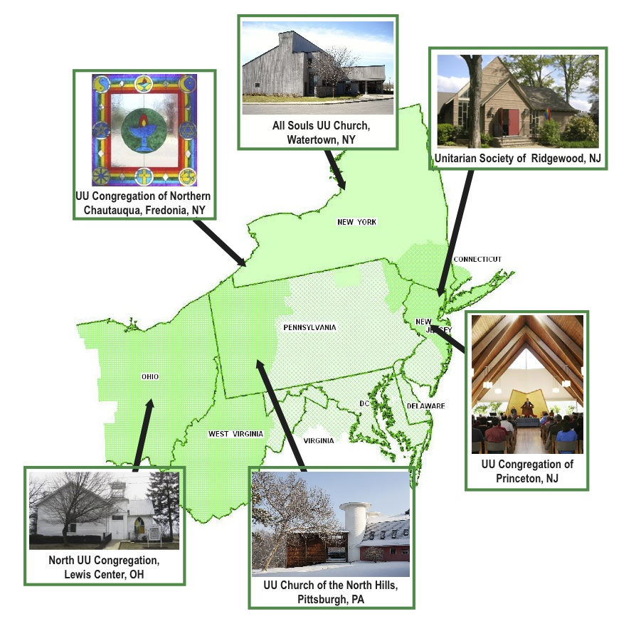 2013 Threshold Congregations Map